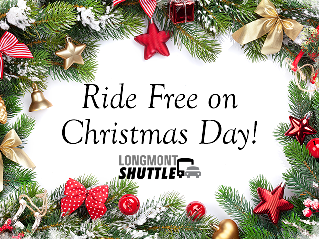 Ride Free on Christmas Day
